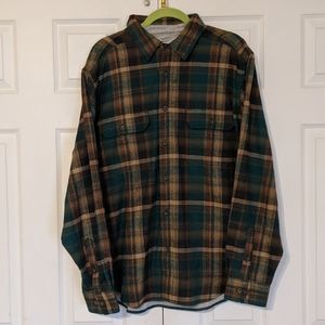 WOOLRICH Men's Flannel Jacket Shirt NWT